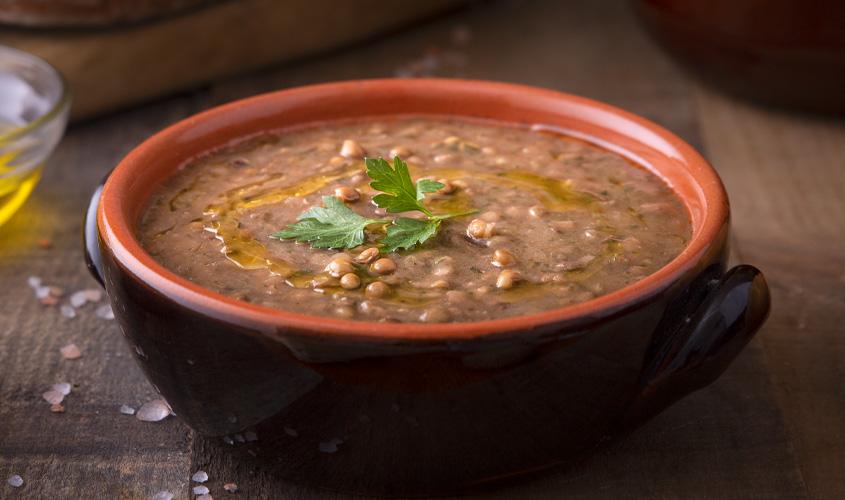 Predjedi/Juhe in mineštre Gosta juha iz leče bofrost